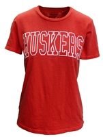 Ladies Dyed Slub Huskers Tee Nebraska Cornhuskers, Nebraska  Ladies T-Shirts, Huskers  Ladies T-Shirts, Nebraska  Short Sleeve, Huskers  Short Sleeve, Nebraska  Ladies, Huskers  Ladies, Nebraska Ladies Dyed Slub Huskers Tee, Huskers Ladies Dyed Slub Huskers Tee