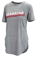 Ladies Huskers Knobi Rounded Tee Nebraska Cornhuskers, Nebraska  Ladies T-Shirts, Huskers  Ladies T-Shirts, Nebraska  Ladies, Huskers  Ladies, Nebraska  Short Sleeve, Huskers  Short Sleeve, Nebraska  Ladies Tops, Huskers  Ladies Tops, Nebraska Ladies Huskers Knobi Rounded Tee, Huskers Ladies Huskers Knobi Rounded Tee