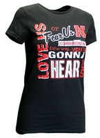 Ladies Love-Us Fear-Us Huskers Tee Nebraska Cornhuskers, Nebraska  Ladies, Huskers  Ladies, Nebraska Tops, Huskers Tops, Nebraska  Ladies T-Shirts, Huskers  Ladies T-Shirts, Nebraska  Ladies Tops, Huskers  Ladies Tops, Nebraska Ladies Go Big Red N Tee, Huskers Ladies Go Big Red N Tee