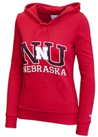 Ladies NU Champ Fleece Hoodie Nebraska Cornhuskers, Nebraska  Ladies Sweatshirts, Huskers  Ladies Sweatshirts, Nebraska  Ladies, Huskers  Ladies, Nebraska  Hoodies, Huskers  Hoodies, Nebraska Red W Champ NU Fleece Hoodie, Huskers Red W Champ NU Fleece Hoodie