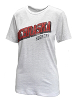 Ladies NU Classic Stripe Tee Nebraska Cornhuskers, Nebraska  Ladies Tops, Huskers  Ladies Tops, Nebraska  Ladies, Huskers  Ladies, Nebraska  Ladies T-Shirts , Huskers  Ladies T-Shirts , Nebraska Ladies NU Classic Stripe Tee, Huskers Ladies NU Classic Stripe Tee