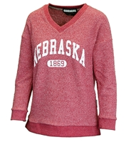 Ladies Nebraska 1869 VNeck Nebraska Cornhuskers, Nebraska  Ladies, Huskers  Ladies, Nebraska  Ladies Sweatshirts, Huskers  Ladies Sweatshirts, Nebraska Ladies Nebraska 1869 VNeck, Huskers Ladies Nebraska 1869 VNeck