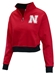 Ladies Nebraska Super Fan Quarter Zip - AS-D2047
