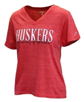Ladies University of Nebraska Huskers Tee Nebraska Cornhuskers, Nebraska  Ladies Tops, Huskers  Ladies Tops, Nebraska  Ladies T-Shirts, Huskers  Ladies T-Shirts, Nebraska  Ladies, Huskers  Ladies, Nebraska  Short Sleeve       , Huskers  Short Sleeve       , Nebraska Ladies University of Nebraska Boyfriend Tee, Huskers Ladies University of Nebraska Boyfriend Tee