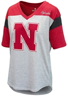 Lady Huskers Oversized Genoa VNeck Nebraska Cornhuskers, Nebraska  Ladies, Huskers  Ladies, Nebraska  Short Sleeve, Huskers  Short Sleeve, Nebraska  Ladies Tops, Huskers  Ladies Tops, Nebraska  Ladies T-Shirts, Huskers  Ladies T-Shirts, Nebraska Lady Huskers Oversized Genoa VNeck, Huskers Lady Huskers Oversized Genoa VNeck