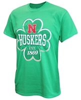 Lucky Huskers Iron N Clover Tee Nebraska Cornhuskers, Nebraska  Mens, Huskers  Mens, Nebraska  Short Sleeve, Huskers  Short Sleeve, Nebraska  Mens T-Shirts, Huskers  Mens T-Shirts, Nebraska  Holiday Items, Huskers  Holiday Items, Nebraska Lucky Huskers Iron N Clover Tee, Huskers Lucky Huskers Iron N Clover Tee