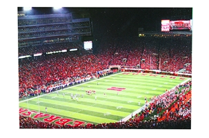 Memorial Stadium Post Card Nebraska Cornhuskers, Nebraska  Office Den & Entry, Huskers  Office Den & Entry, Nebraska  Novelty , Huskers  Novelty , Nebraska Memorial Stadium Post Card, Huskers Memorial Stadium Post Card
