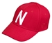 Memory Fit Skinny N Huskers Hat - Red - HT-C8357