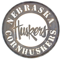 N Husker Metal Wall Sign Nebraska Cornhuskers, N Husker Metal Wall Sign