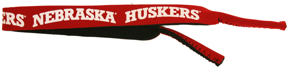 NEOPRENE SUNGLASSES STRAP Nebraska Cornhuskers, husker football, nebraska cornhuskers merchandise, nebraska merchandise, husker merchandise, nebraska cornhuskers apparel, husker apparel, nebraska apparel, husker womens apparel, nebraska cornhuskers womens apparel, nebraska womens apparel, husker womens merchandise, nebraska cornhuskers womens merchandise, womens nebraska accessories, womens husker accessories, womens nebraska cornhusker accessories,Neoprene Sunglasses Strap