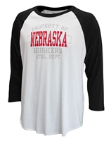 Nebraska Athletic Department Raglan Nebraska Cornhuskers, Nebraska  Mens, Huskers  Mens, Nebraska  Long Sleeve, Huskers  Long Sleeve, Nebraska  Mens T-Shirts, Huskers  Mens T-Shirts, Nebraska Nebraska Athletic Department Tee, Huskers Nebraska Athletic Department Tee
