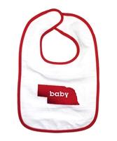 Jenkins Enterprises Nebraska Cornhuskers NCAA Baby Bibs 2 Pack
