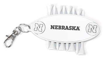 Nebraska Ball Marker N Tees Bag Tag Nebraska Cornhuskers, Nebraska Golf Items, Huskers Golf Items, Nebraska Nebraska Ball Marker N Tees Bag Tag, Huskers Nebraska Ball Marker N Tees Bag Tag