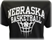 Nebraska Basketball Naismith Tee - AT-C5047