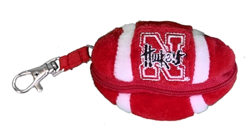 Nebraska Bear Clip Zipper Football Nebraska Cornhuskers, Nebraska  Novelty, Huskers  Novelty, Nebraska  Toys & Games, Huskers  Toys & Games, Nebraska  Kids, Huskers  Kids, Nebraska Nebraska Bear Clip Zipper Football , Huskers Nebraska Bear Clip Zipper Football