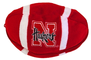 Nebraska Bear Zipper Football Toy Nebraska Cornhuskers, Nebraska  Toys & Games, Huskers  Toys & Games, Nebraska Fun Stuff Novelty, Huskers Fun Stuff Novelty, Nebraska Nebraska Bear Zipper Football Toy, Huskers Nebraska Bear Zipper Football Toy