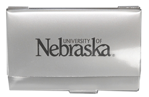 Nebraska Business Card Holder Nebraska Cornhuskers, Nebraska  Bags Purses & Wallets, Huskers  Bags Purses & Wallets, Nebraska  Mens Accessories, Huskers  Mens Accessories, Nebraska  Ladies Accessories, Huskers  Ladies Accessories, Nebraska Nebraska Business Card Holder, Huskers Nebraska Business Card Holder