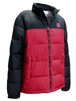 Nebraska Columbia Insulated Puffer Jacket Nebraska Cornhuskers, Nebraska  Mens Outerwear, Huskers  Mens Outerwear, Nebraska  Mens, Huskers  Mens, Nebraska Nebraska Columbia Insulated Puffer Jacket, Huskers Nebraska Columbia Insulated Puffer Jacket