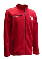Nebraska Corded Fleece Full Zip Jacket Nebraska Cornhuskers, Nebraska  Mens Outerwear, Huskers  Mens Outerwear, Nebraska  Mens, Huskers  Mens, Nebraska Nebraska Corded Fleece Full Zip Jacket, Huskers Nebraska Corded Fleece Full Zip Jacket
