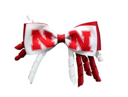Nebraska Curled Ribbon Hair Bow Nebraska Cornhuskers, Nebraska  Jewelry & Hair, Huskers  Jewelry & Hair, Nebraska  Kids, Huskers  Kids, Nebraska  Childrens, Huskers  Childrens, Nebraska Nebraska Curled Ribbon Hair Bow, Huskers Nebraska Curled Ribbon Hair Bow