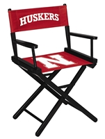 Nebraska Directors Chair Table Height Nebraska Cornhuskers, Nebraska  Game Room & Big Red Room, Huskers  Game Room & Big Red Room, Nebraska  Tailgating, Huskers  Tailgating, Nebraska Nebraska Directors Chair Table Height, Huskers Nebraska Directors Chair Table Height
