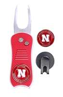 Nebraska Divot Tool Tin Set Nebraska Cornhuskers, Nebraska Golf Items, Huskers Golf Items, Nebraska Nebraska Divot Tool Tin Set, Huskers Nebraska Divot Tool Tin Set