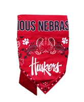 Nebraska Fan Pet Bandana Nebraska Cornhuskers, Nebraska Pet Items, Huskers Pet Items, Nebraska Nebraska Fan Pet Bandana, Huskers Nebraska Fan Pet Bandana