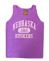 Nebraska Electric Dyed Tank Top Nebraska Cornhuskers, Nebraska  Ladies T-Shirts, Huskers  Ladies T-Shirts, Nebraska  Ladies, Huskers  Ladies, Nebraska  Tank Tops, Huskers  Tank Tops, Nebraska Nebraska Gals Electric Dyed Tank Top, Huskers Nebraska Gals Electric Dyed Tank Top