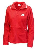 Nebraska Gals Full Ridge Fleece Jacket Nebraska Cornhuskers, Nebraska  Ladies Outerwear, Huskers  Ladies Outerwear, Nebraska  Ladies, Huskers  Ladies, Nebraska Red W Fuller Ridge Fleece Jacket, Huskers Red W Fuller Ridge Fleece Jacket