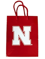 Nebraska Gift Bag Nebraska Cornhuskers, Nebraska Home & Office, Huskers Home & Office, Nebraska  Holiday Items, Huskers  Holiday Items, Gift Bags