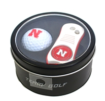 Nebraska Golf Ball Tool Tin Set Nebraska Cornhuskers, Nebraska Golf Items, Huskers Golf Items, Nebraska Nebraska Golf Ball Tool Tin Set, Huskers Nebraska Golf Ball Tool Tin Set