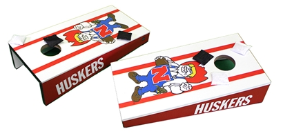 Nebraska Herbie Desktop Cornhole Game Nebraska Cornhuskers, Nebraska  Tailgating, Huskers  Tailgating, Nebraska  Game Room & Big Red Room, Huskers  Game Room & Big Red Room, Nebraska Fun Stay At Home Ideas for 2020, Huskers Fun Stay At Home Ideas for 2020, Nebraska Nebraska Herbie Desktop Cornhole Game, Huskers Nebraska Herbie Desktop Cornhole Game