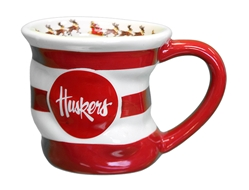 Nebraska Holiday Stocking Mug Nebraska Cornhuskers, Nebraska  Kitchen & Glassware, Huskers  Kitchen & Glassware, Nebraska  Holiday Items, Huskers  Holiday Items, Nebraska Nebraska Holiday Stocking Mug Memory Company, Huskers Nebraska Holiday Stocking Mug Memory Company