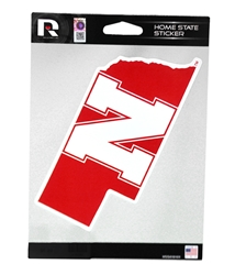 Nebraska Home State Sticker Nebraska Cornhuskers, Nebraska Stickers Decals & Magnets, Huskers Stickers Decals & Magnets, Nebraska Nebraska Home State Sticker, Huskers Nebraska Home State Sticker