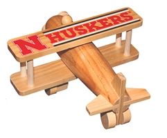 Nebraska Huskers Crafted Wooden Airplane  Nebraska Cornhuskers, Nebraska  Toys & Games, Huskers  Toys & Games, Nebraska Nebraska Wooden Airplane DIY, Huskers Nebraska Wooden Airplane DIY