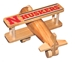 Nebraska Huskers Crafted Wooden Airplane  - CH-C5019