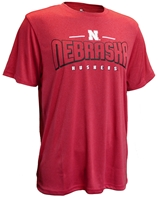 Huskers Double Chunk Hunk Performance Tee Nebraska Cornhuskers, Nebraska  Mens, Huskers  Mens, Nebraska  Short Sleeve, Huskers  Short Sleeve, Nebraska  Mens T-Shirts, Huskers  Mens T-Shirts, Nebraska Nebraska Huskers Hooked Performance Tee, Huskers Nebraska Huskers Hooked Performance Tee
