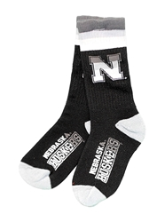 Nebraska Huskers Platinum Deuce Sock Nebraska Cornhuskers, Nebraska  Mens, Huskers  Mens, Nebraska  Footwear, Huskers  Footwear, Nebraska  Mens Accessories, Huskers  Mens Accessories, Nebraska Nebraska Huskers Platinum Deuce Sock, Huskers Nebraska Huskers Platinum Deuce Sock