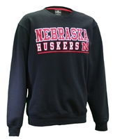 Nebraska Huskers Rally Crewneck Nebraska Cornhuskers, Nebraska  Crew, Huskers  Crew, Nebraska  Mens, Huskers  Mens, Nebraska  Mens Sweatshirts, Huskers  Mens Sweatshirts, Nebraska Black Out!, Huskers Black Out!, Nebraska Nebraska Huskers Rally Crewneck, Huskers Nebraska Huskers Rally Crewneck