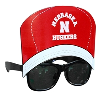 Nebraska Huskers Slugger Hat Sunglasses Nebraska Cornhuskers, Nebraska  Kids, Huskers  Kids, Nebraska  Novelty, Huskers  Novelty, Nebraska  Beads & Fun Stuff, Huskers  Beads & Fun Stuff, Nebraska Nebraska Huskers Slugger Hat Sunglasses, Huskers Nebraska Huskers Slugger Hat Sunglasses