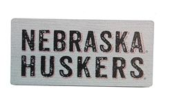 Nebraska Huskers Wood Magnet Nebraska Cornhuskers, Nebraska Stickers Decals & Magnets, Huskers Stickers Decals & Magnets, Nebraska Nebraska Huskers Wood Magnet, Huskers Nebraska Huskers Wood Magnet
