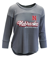 Nebraska Huskers Yoke Terry Top Nebraska Cornhuskers, Nebraska  Ladies Tops, Huskers  Ladies Tops, Nebraska Nebraska Huskers Yoke Terry Top, Huskers Nebraska Huskers Yoke Terry Top