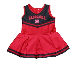 Nebraska Infant Girls Pinky Cheer Dress Nebraska Cornhuskers, Nebraska  Infant, Huskers  Infant, Nebraska Nebraska Infant Girls Pinky Cheer Dress, Huskers Nebraska Infant Girls Pinky Cheer Dress