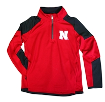 Nebraska Kids Beta Quarter Zip Performance Jacket Nebraska Cornhuskers, Nebraska  Childrens, Huskers  Childrens, Nebraska  Kids, Huskers  Kids, Nebraska Nebraska Kids Beta Quarter Zip Performance Jacket, Huskers Nebraska Kids Beta Quarter Zip Performance Jacket