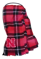 Nebraska Plaid Blanket Scarf Nebraska Cornhuskers, Nebraska  Ladies, Huskers  Ladies, Nebraska  Ladies Outerwear, Huskers  Ladies Outerwear, Nebraska  Ladies Accessories, Huskers  Ladies Accessories, Nebraska Nebraska Plaid Blanket Scarf, Huskers Nebraska Plaid Blanket Scarf