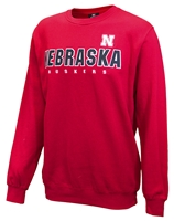 Nebraska Playbook Crew - Red Nebraska Cornhuskers, Nebraska  Mens Sweatshirts, Huskers  Mens Sweatshirts, Nebraska  Mens, Huskers  Mens, Nebraska  Crew, Huskers  Crew, Nebraska Nebraska Playbook Crew - Red, Huskers Nebraska Playbook Crew - Red