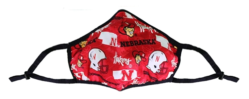 Nebraska Probiotic Face Mask Nebraska Cornhuskers, Nebraska  Ladies, Huskers  Ladies, Nebraska  Mens, Huskers  Mens, Nebraska  Mens Accessories, Huskers  Mens Accessories, Nebraska  Ladies Accessories, Huskers  Ladies Accessories, Nebraska Nebraska Helmets Mask, Huskers Nebraska Helmets Mask