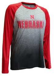 Nebraska Sitwell Sublimated LS Nebraska Cornhuskers, Nebraska  Mens T-Shirts, Huskers  Mens T-Shirts, Nebraska  Long Sleeve, Huskers  Long Sleeve, Nebraska  Mens, Huskers  Mens, Nebraska Nebraska Sitwell Sublimated LS, Huskers Nebraska Sitwell Sublimated LS