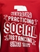 Nebraska Social Distance Tee - AT-B6119