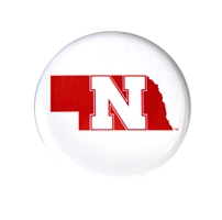 Nebraska State Button Nebraska Cornhuskers, Nebraska  Beads & Fun Stuff, Huskers  Beads & Fun Stuff, Nebraska  Beads & Fun Stuff, Huskers  Beads & Fun Stuff, Nebraska Nebraska State 1 Inch Button, Huskers Nebraska State 1 Inch Button